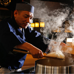 【レストランランクアップ】名物石焼で讃岐牛とロブスターを食べ比べる会席〜
