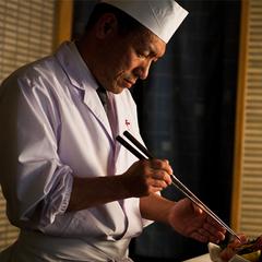 【個室食ランクアップ】イセエビ姿造りとアワビ踊り焼き〜饗宴会席