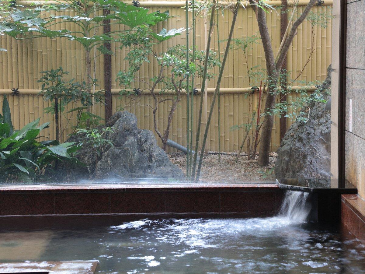 【天然温泉大浴場】おしどりの湯