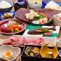 【楽天スーパーSALE】50%OFF《六大特典付》群馬地元食材を堪能■上州牛すき焼き会席■