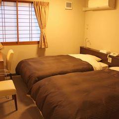 洋室ツインベットルームで1泊2食付プラン 「現金特価」
