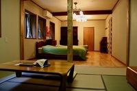 ツインベッド 和洋室 18畳