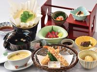 【お日にち限定、平日は更にお得!】旬の魚や採れたて京野菜も堪能、総料理長おまかせ京会席プラン