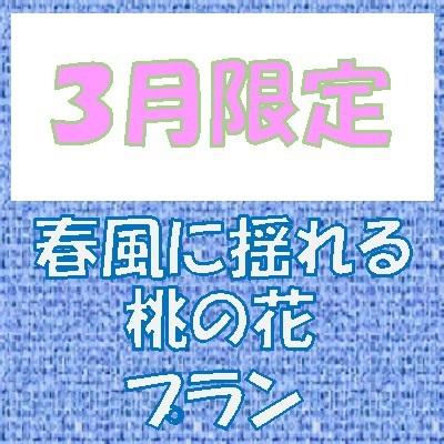 【3月限定】〜さわさわ〜春風に揺れる桃の花プラン ※朝食無料サービス