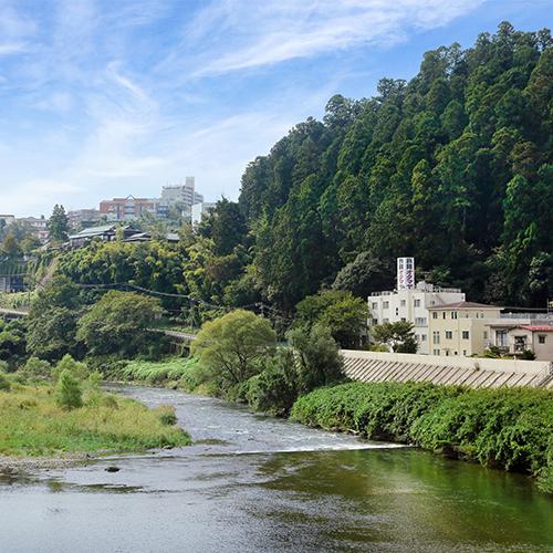 仙台の名所★広瀬川の自然景観がすぐそばに♪地産地消の【朝食・夕食付プラン】