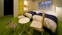 【ホテル】ファミリールーム◇32平米/2段ベッド付き/禁煙