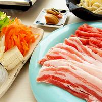 ホテル泊★特産豚しゃぶの夕餉【夕食】【朝食】【レストラン】