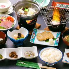 "◆基本会席◆当館名物""岩盤浴""ד日本最古の温泉""を存分に♪"