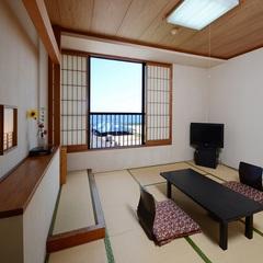 【禁煙】【有明海側確約】和室8畳・バス・トイレ付【和室】