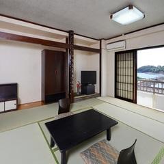 【有明海を一望★和室12畳】バストイレ付