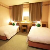 【禁煙】リニューアル♪2ベッドのお部屋(無料Wi-Fi付)