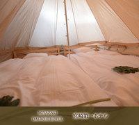 【男性のみ限定プラン*素泊まり】ホテル内のグランピングスペースでキャンプ体験☆