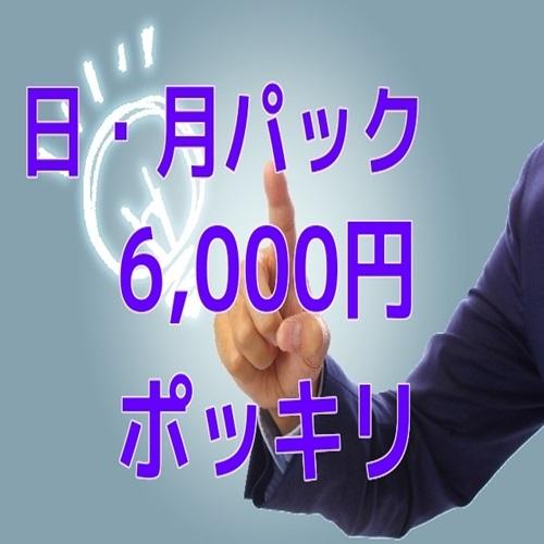 《朝食無料》【日・月ビジネスパック】《清掃なしで2日間滞在!最安値☆¥6000〜♪》