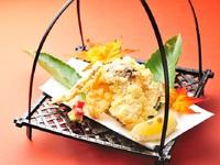 特選松茸料理五品付【松茸づくしプラン】