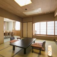 【特別室 高野槇の露天風呂付和室】・リビング・ベッドルーム付