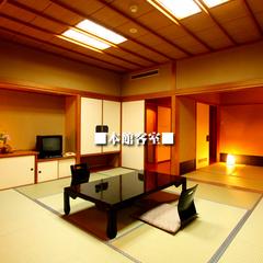海側:本館客室。(10畳+6畳の2間続き確約!)