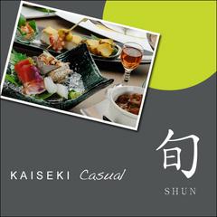 【リーズナブル】品数と量をひかえめにしたカジュアルKAISEKI「旬」SHUN