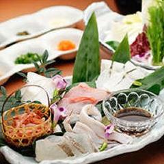 【アンコールプラン】お肉または海鮮をお一人様ごとにチョイス「源泉しゃぶしゃぶ膳」