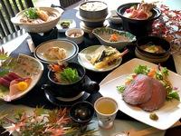 【秋のお得会席】秋の味覚の王様「松茸」料理3品+和会席で全13品のお得な華膳