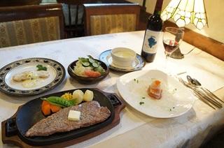 【スタンダードプラン】たっぷり新鮮野菜と鉄板ステーキの満腹プラン