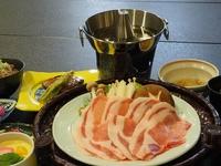 【露天付客室】【量少な目】信州ポークしゃぶしゃぶ or ニシン焼肴 メイン料理セレクトプラン