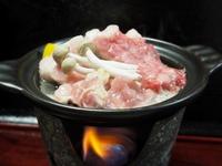 【新プラン】信州産肉3種(牛・ポーク・鶏)陶板焼き or ニシン焼肴(メインが選べる)グルメプラン