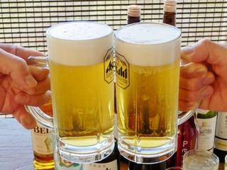 ◆はいよろこんで!の居酒屋庄や結城店とのコラボ◆ 【夕食券】 + 【ビール1杯】もつけちゃいます!