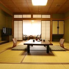 和室8〜10畳【広縁&ウォッシュトイレット付】