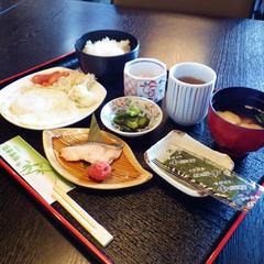 【朝食付】一日の始まりにしっかり和定食♪4,600円〜