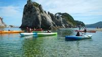 【シーカヤック体験】三陸海岸の美しい名所をガイドと一緒にジオ体験!1泊2食付きビュッフェプラン