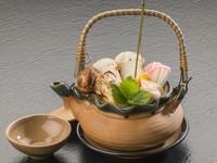 【みやこ宿泊割対象】『岩手県産特選松茸』釜飯と土瓶蒸し付きビュッフェプラン