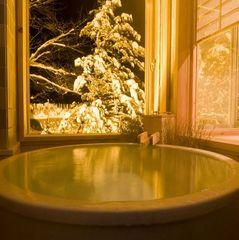 温泉☆【禁煙:一人旅】星見半露天風呂付き客室「45平米」