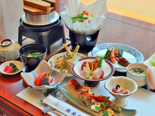 現金特価【夕・朝食2食付】★☆基本のキ☆★季節のおすすめ膳プラン