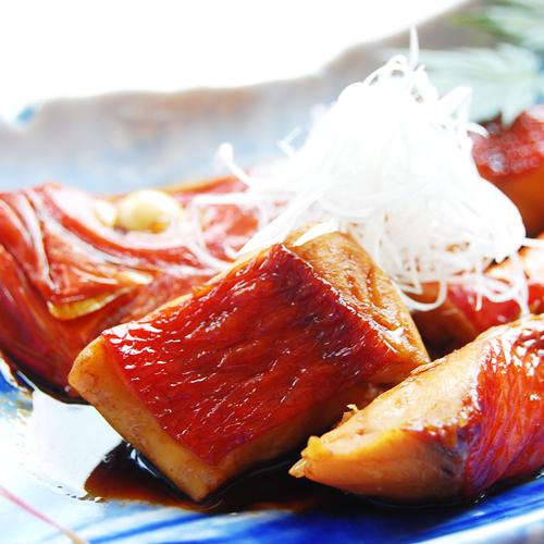 《夕食なし朝食付》【ゴロゴロ金目鯛の煮付スペシャル朝ごはん】タレご飯♪お箸が止まらないこと確約