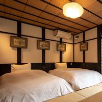 本館2F 『椿山』   シモンズ製ベッド&Wifi完備