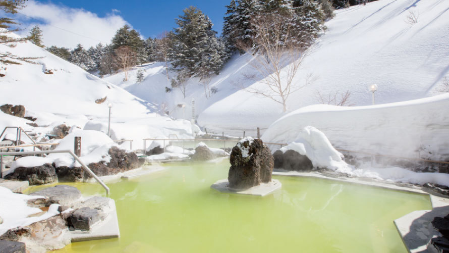 【スタンダードプラン】4つの源泉で異なる色と泉質の温泉を楽しむ♪<室料のみ>