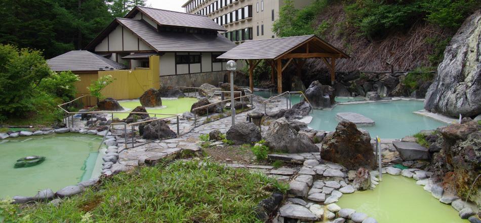 石庭露天風呂