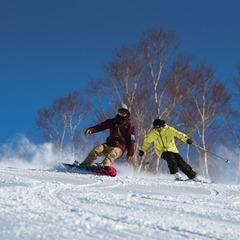 【スキーパック】リフト4時間券1枚(こどもリフト券無料) 夕朝食付き