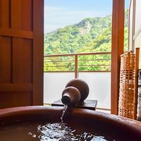 【2017年新築本館】金泉露天風呂&テラス付和室C(紅・蘇芳
