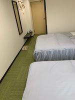 【本館】<喫煙>ツインルーム(ベッドサイズ120cm×2)