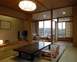 【和室12畳+ツイン 特別室】富士山側!最上階