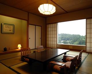 【和室12.5畳+広縁】 富士山側で基本客室より広め