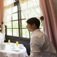 【ご朝食プラン】仏産焼立て♪クロワッサン&カフェオレをお部屋又はお庭で◆朝はゆっくりとアウト12時!