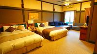 【特別室展望風呂付】63平米のツインルーム