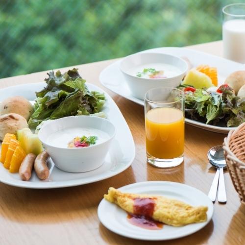 【1泊朝食プラン】〜Bed & Breakfast 〜階層指定なし