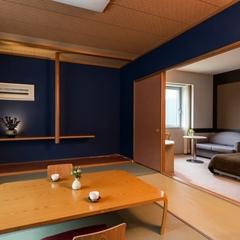 【和洋室】 角部屋/洋室+和室6畳/バス付 <広々空間>