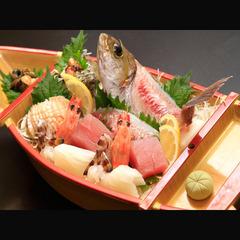 大満足!海鮮残酷あみ焼と大漁舟盛[1泊2食付]