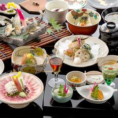 ■基本会席<竹>■旅の演出には欠かせない<京の食材×器>頑固なまでに拘った京会席を満喫【現金特価】