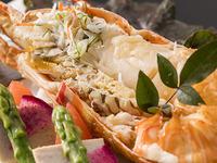 【豪華和食膳!】海からの贈りもの<ずわい蟹・オマール海老・鮑>ハワイアンズ2日券も付いた大満足プラン