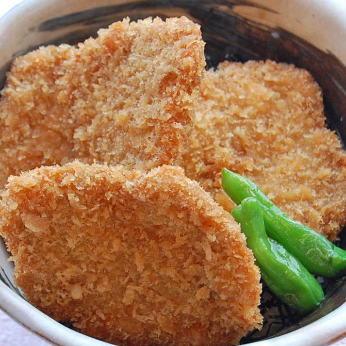 """新潟「タレカツ丼」で""""ばんげのご飯""""付 ≪2食付≫"""